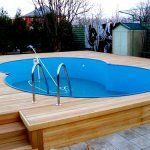 Вид готового бассейна