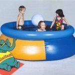 Бассейн с детьми