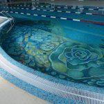 Плиточный бассейн