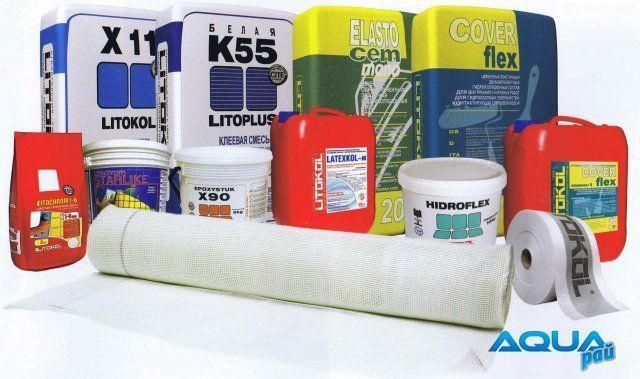 Строительные смеси Litokol