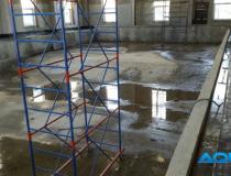 Фото строительства бассейна из бетона