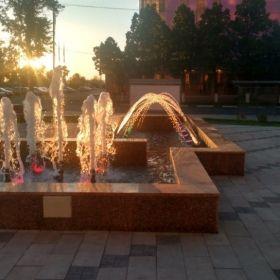 Пример фонтана от Аква Рай