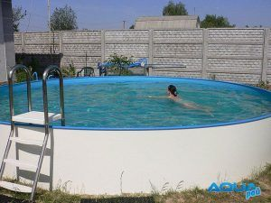 бассейн круглой формы