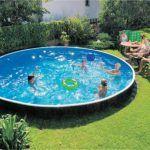 Каркасный бассейн фото 9