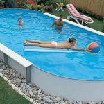 Каркасный бассейн фото 7