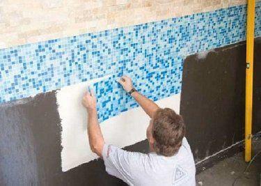 Как правильно уложить плитку для бассейна