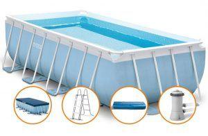 Состав каркасного бассейна