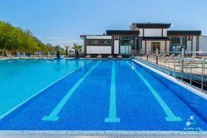 Строительство открытого бассейна